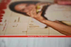 Sandwich magazine issue 1 The BLT spine
