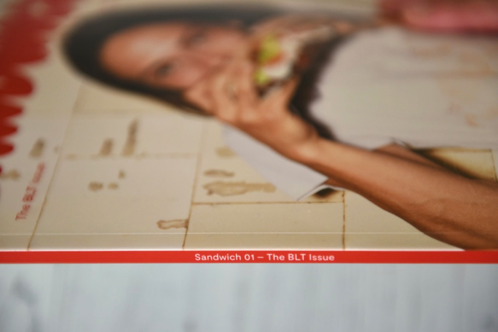 Sandwich magazine issue 1 The BLT spine