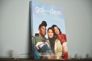Gal-dem UN/REST magazine issue propped on mantelpiece