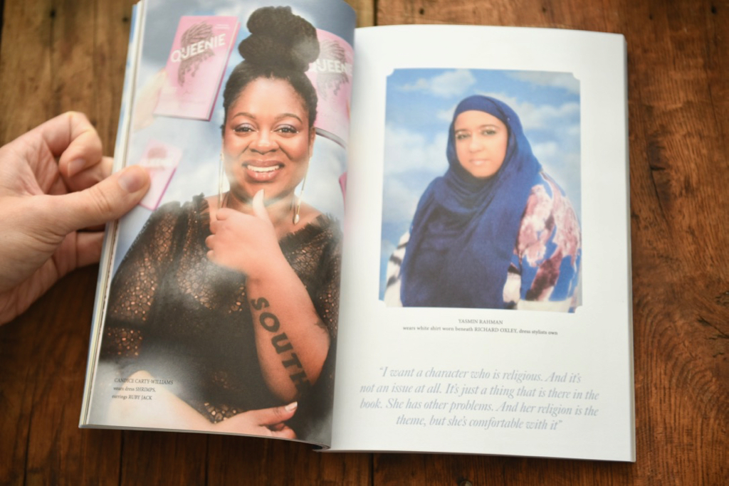 Gal-dem UN/REST magazine issue with photo of Candice Carty-Williams and Yasmin Rahman